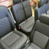 Campervan Upholstery - VWT5 cab seats campervan upholstery CAMPERVAN GALLERY 2014 02 17 13